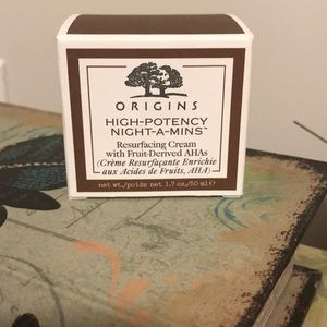 ORIGINS- Night-a-Mins resurfacing cream 1.7 ounces